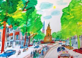 Den Haag - Alexanderstraat en Plein 1813