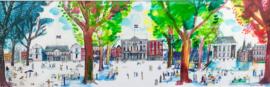 Den Haag - stadsgezicht met 4 seizoenen