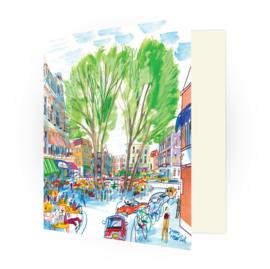 Kunstkaart - Den Haag Anna Paulownaplein