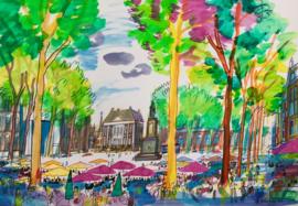 Den Haag - het Plein met Museum het Mauritshuis