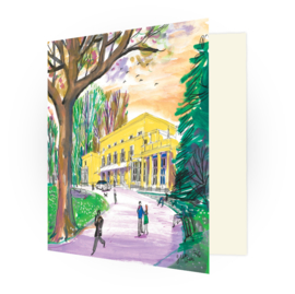 Kunstkaart - Wassenaar Raadhuis de Pauw
