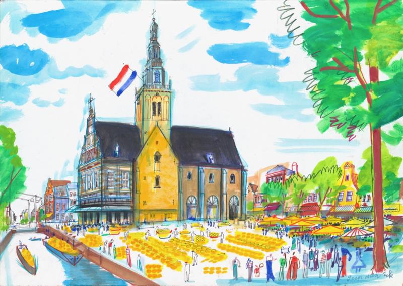 Alkmaar - Kaasmarkt