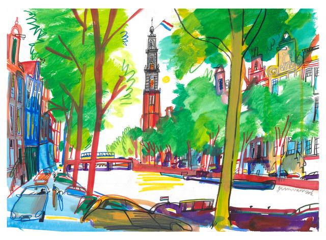 Amsterdam, Westertoren