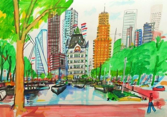 Rotterdam, Oude Haven met het Witte Huis
