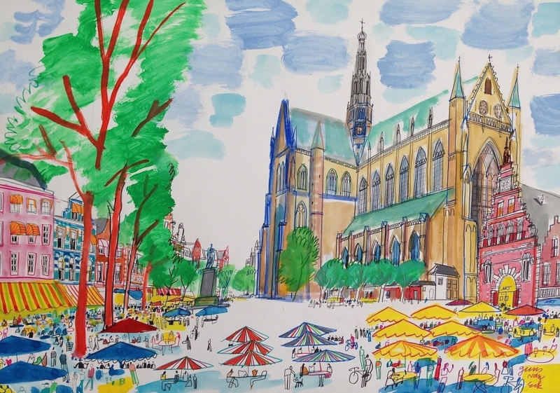 Haarlem, De Grote of St. Bavokerk