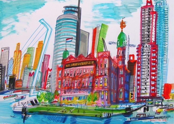 Rotterdam, Hotel New York op de Kop van Zuid