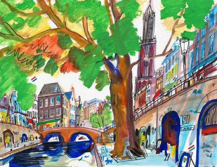 Utrecht, Oude gracht