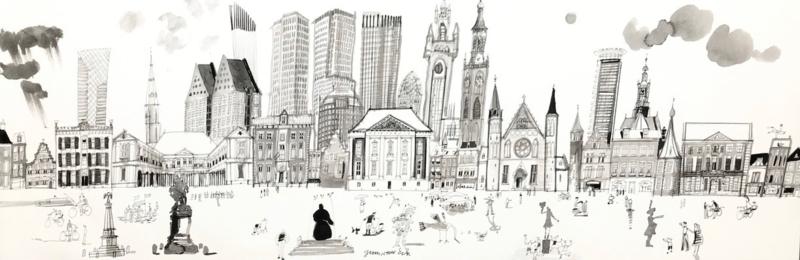 Den Haag - bezienswaardigheden van de stad
