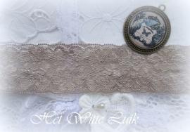 20 METER BRUIN TAUPE KANT 38 MM