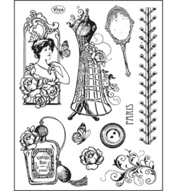 CLEARSTAMPS PARIS COUTURE