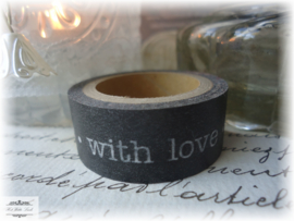 1 ROL MASKING TAPE WITH LOVE