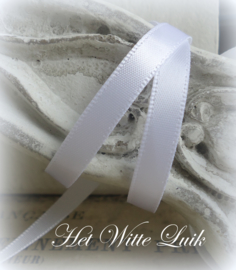 ROL 45 METER SATIJNLINT WIT 10 MM