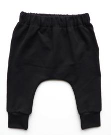 Kleine Baasjes Organic - Harem Sweatpants Black