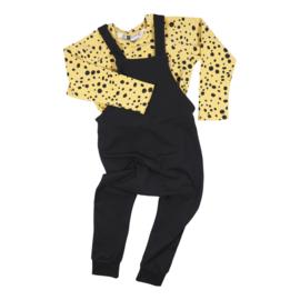 Kleine Baasjes Organic - Raglan Shirt Dots Gold