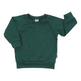 Kleine Baasjes Organic - Raglan Sweater Evergreen