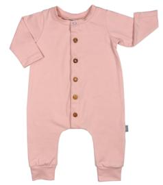 Kleine Baasjes Organic - Baby Jumpsuit Dusty Pink
