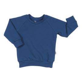 Kleine Baasjes Organic - Raglan Sweater Blue