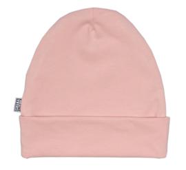 Kleine Baasjes Organic - Beanie Dusty Pink