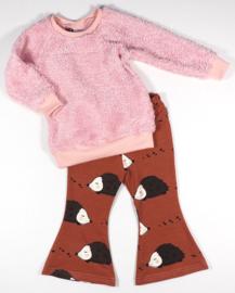 Kleine Baasjes Organic - Teddy Sweater Roze