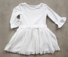 Kleine Baasjes 'WEDDING' - Tule Dress White
