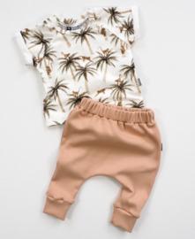 Kleine Baasjes Organic - Raglan Shirt Palms and Monkeys