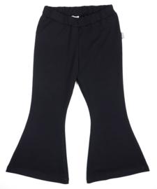 Kleine Baasjes Organic - Flared Pants Black