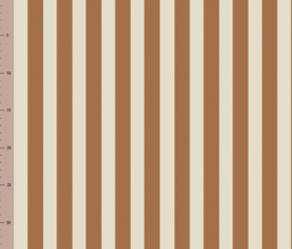Vertical Toffee/Cream  - Jersey