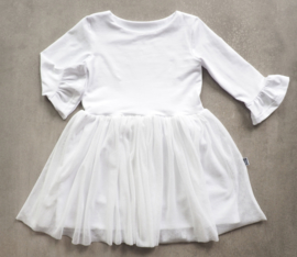 Kleine Baasjes 'WEDDING' - Tule Dress White