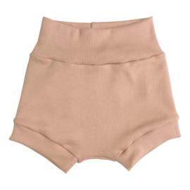 Kleine Baasjes Organic - Baby Shorts Rib Camel
