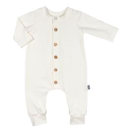 Kleine Baasjes Organic - Baby Jumpsuit Cream