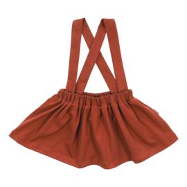Kleine Baasjes Organic - Suspender Skirt Rusty