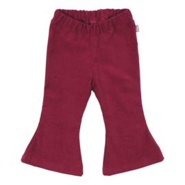 Kleine Baasjes Organic - Flared Pants Corduroy Wine