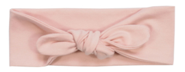 Kleine Baasjes - geknoopte haarband Dusty Pink