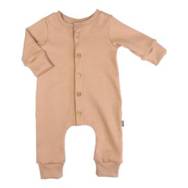 Kleine Baasjes NEWBORN - Baby Jumpsuit Rib Camel