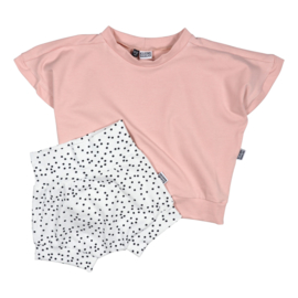 Kleine Baasjes Organic - Shorts Dotty Black & White