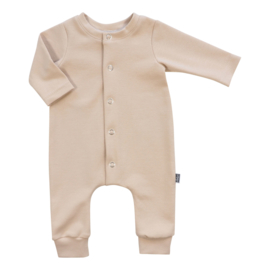 Kleine Baasjes Organic - Baby Jumpsuit Beige