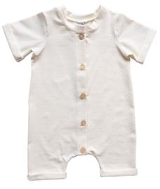 Kleine Baasjes Organic - Baby Summer Jumpsuit Cream