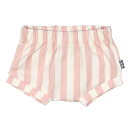Kleine Baasjes Organic - Baby Shorts Vertical Pink&Cream