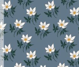 Flowers Bleu  - Jersey