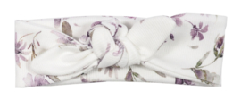 Kleine Baasjes - geknoopte haarband Rib Floral