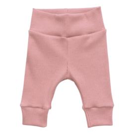 Kleine Baasjes NEWBORN - Broekje Rib Pink