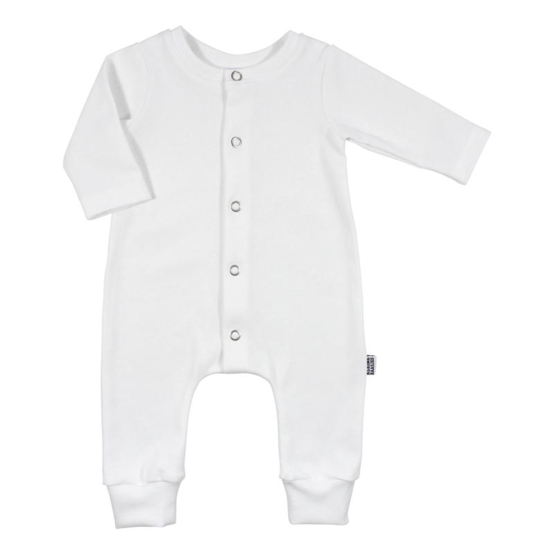 Kleine Baasjes Organic - Baby Jumpsuit Wit
