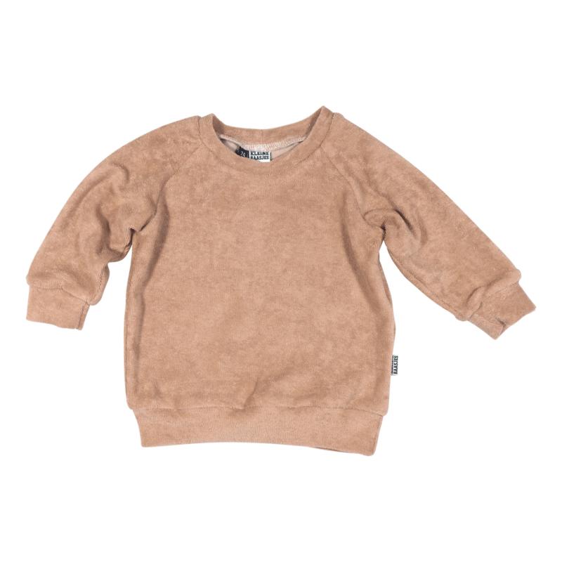 Kleine Baasjes Organic - Raglan Sweater Roebuck Badstof