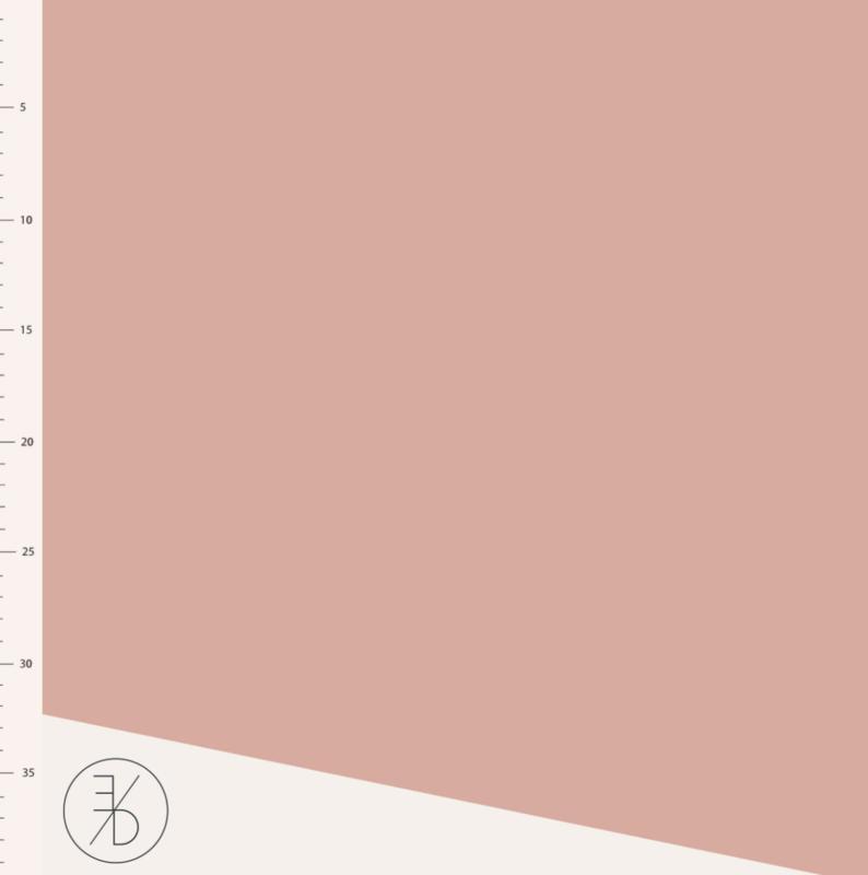Dusty Pink - Jersey & Muslin