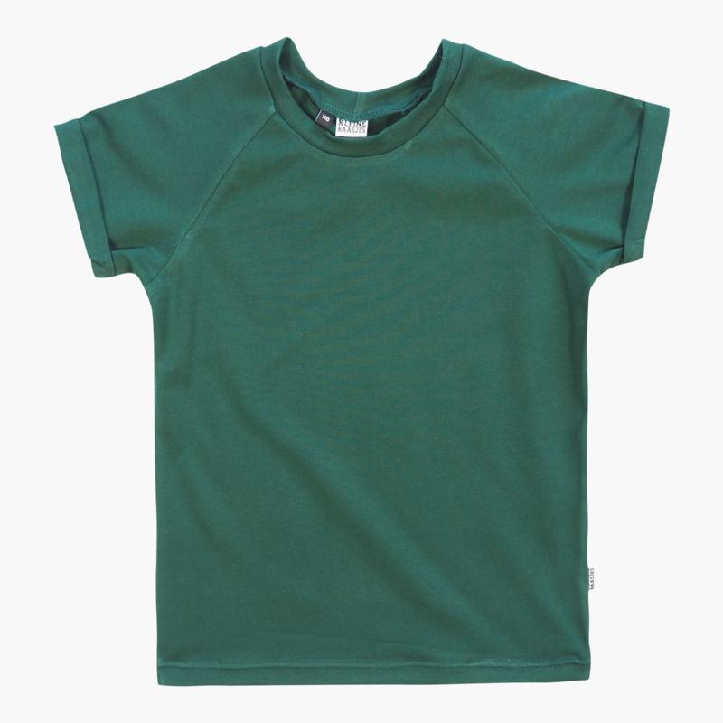 Kleine Baasjes Organic - Raglan Shirt Evergreen
