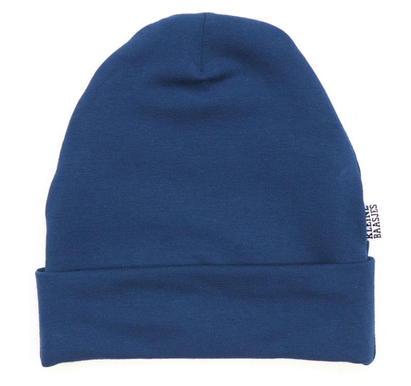 Kleine Baasjes Organic - Beanie Blue