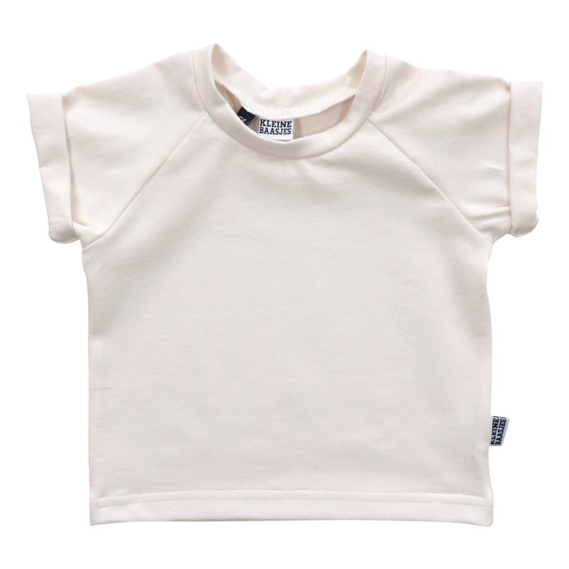 Kleine Baasjes Organic - Raglan Shirt Cream