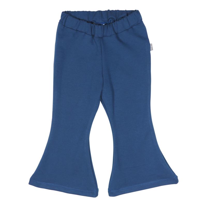 Kleine Baasjes Organic - Flared Pants Blue