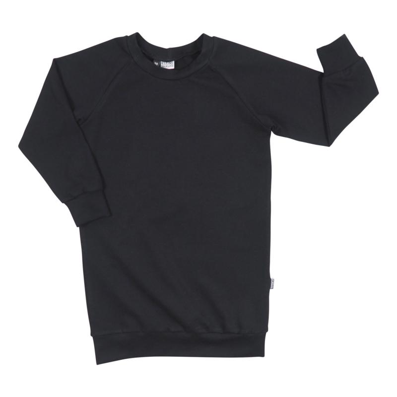 Kleine Baasjes Organic - Sweaterdress Black