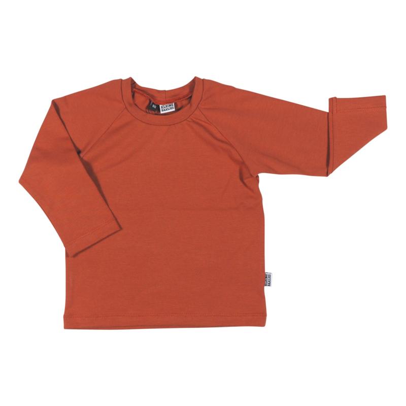 Kleine Baasjes Organic - Raglan Shirt Rusty